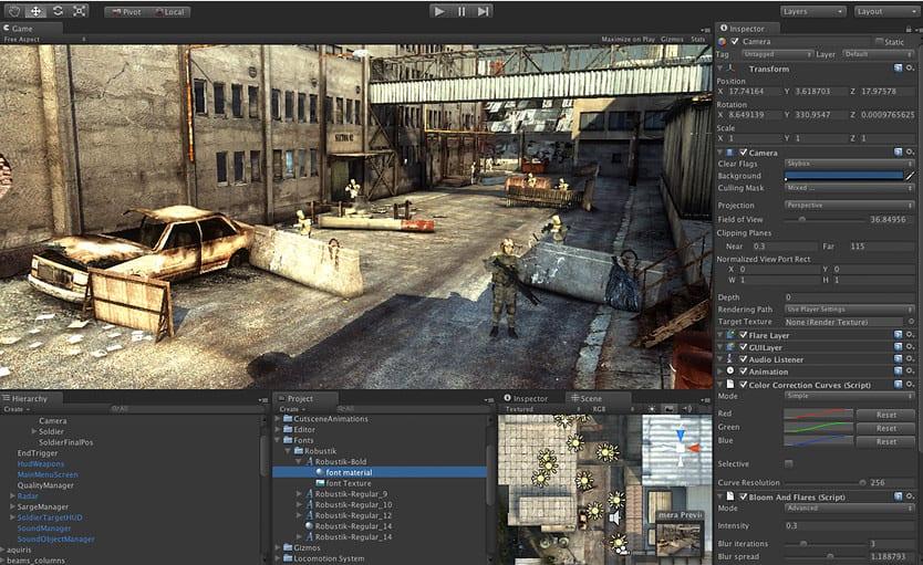 Curso desarrollo de videojuegos