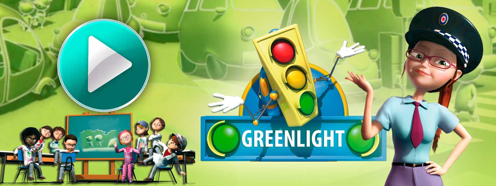 GreenLight Dibujos de Educación Vial